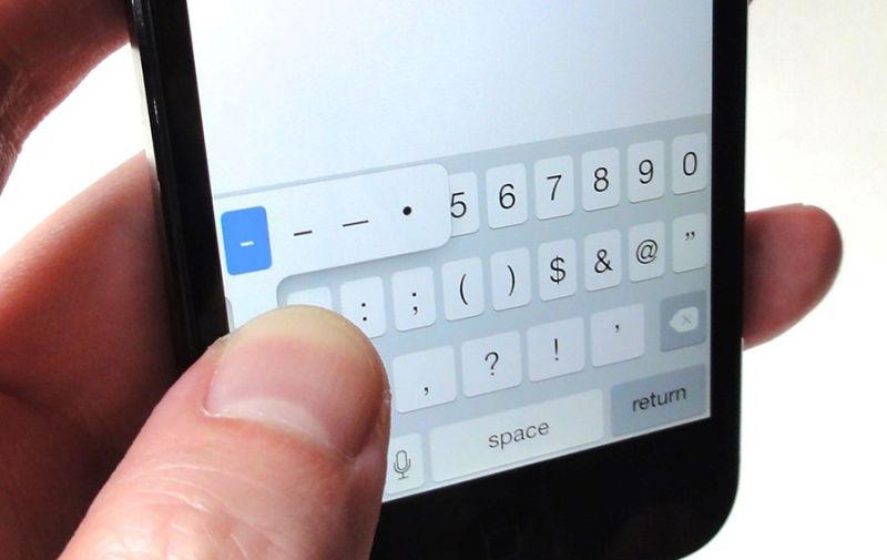 Hyphen Il Simbolo Magico Che Manda In Crash Gli Iphone Cosè E Come