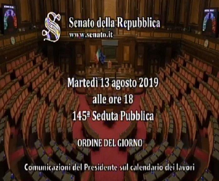 Calendario Repubblica.Senato Della Repubblica Comunicazione Del Presidente Sul