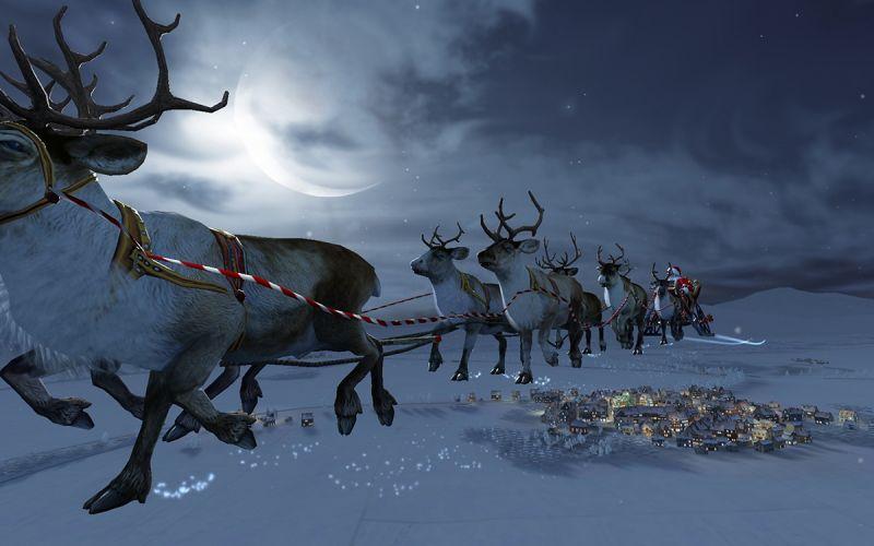 Nomi Renne Babbo Natale.Babbo Natale E Le Sue Renne La Storia Di Santa Claus Spiegata Dalla