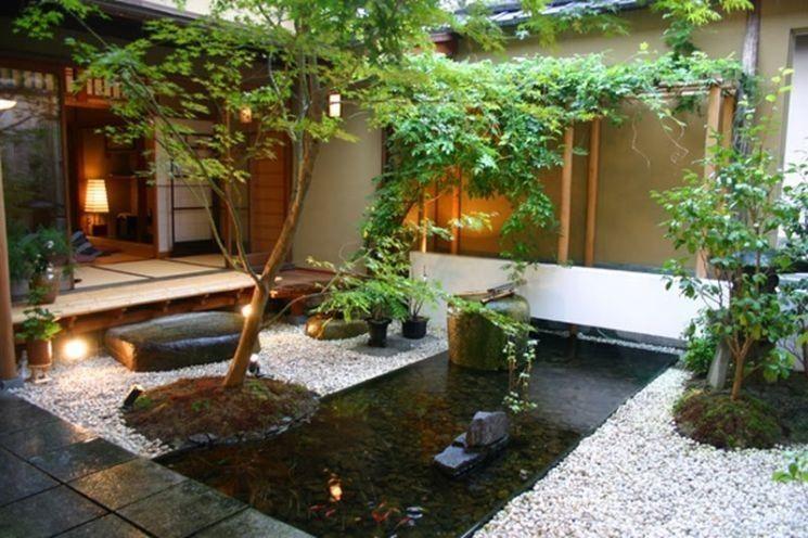 Giardini Moderni Zen : Il giardino zen per coltivare l anima il mondo e la sua