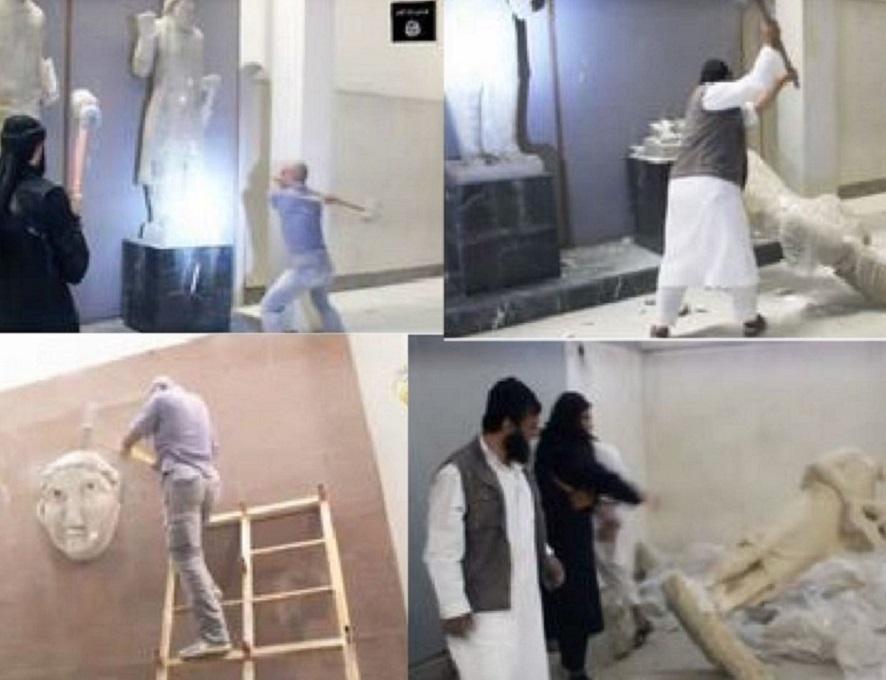 ISIS,_SCEMPIO_IN_UN_MUSEO_DI_MOSUL