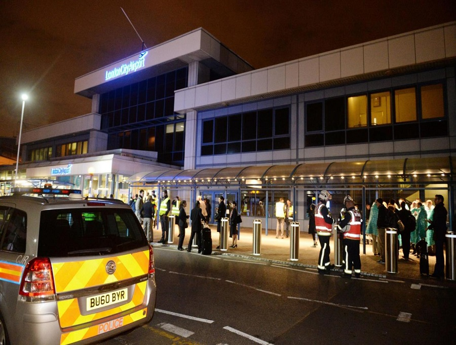 London_City_Airport_evacuation_'may_have_been_caused_by_CS_gas'