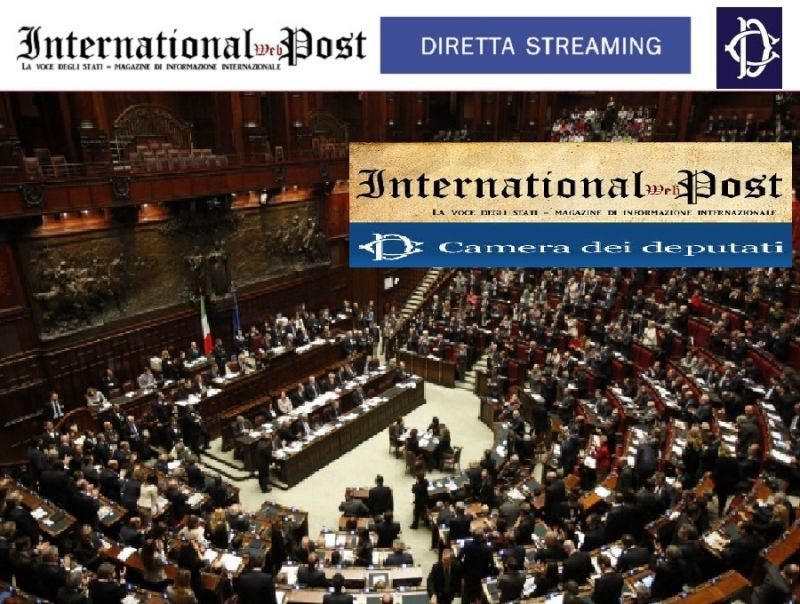 International web post magazine online di informazione for In diretta dalla camera dei deputati