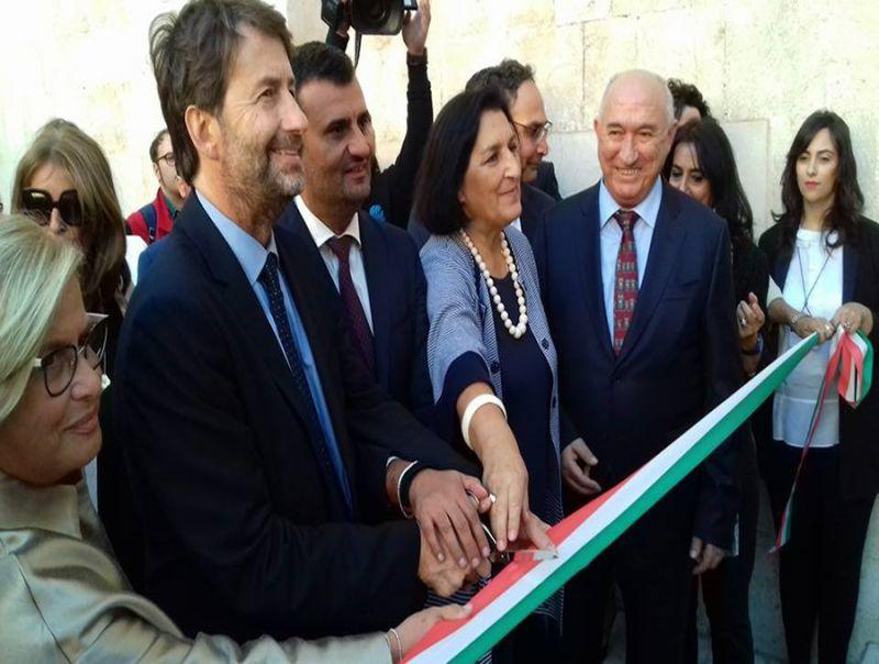 Il_Ministro_Dario_Franceschini_inaugura_a_Bari_la_riapertura_del_Castello_Svevo