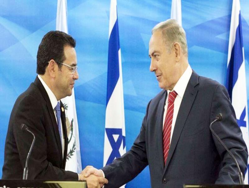 Il_Guatemala_sposta_l'ambasciata_a_Gerusalemme