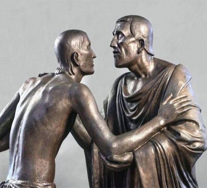 """""""Incontro_e_Abbraccio""""_nell'arte_del_900_a_Palazzo_del_Monte_di_Pietà"""