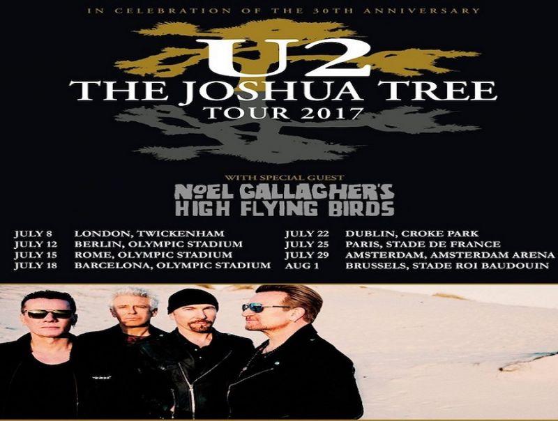 """U2:_IN_TOUR_CON_""""THE_JOSHUA_TREE"""""""