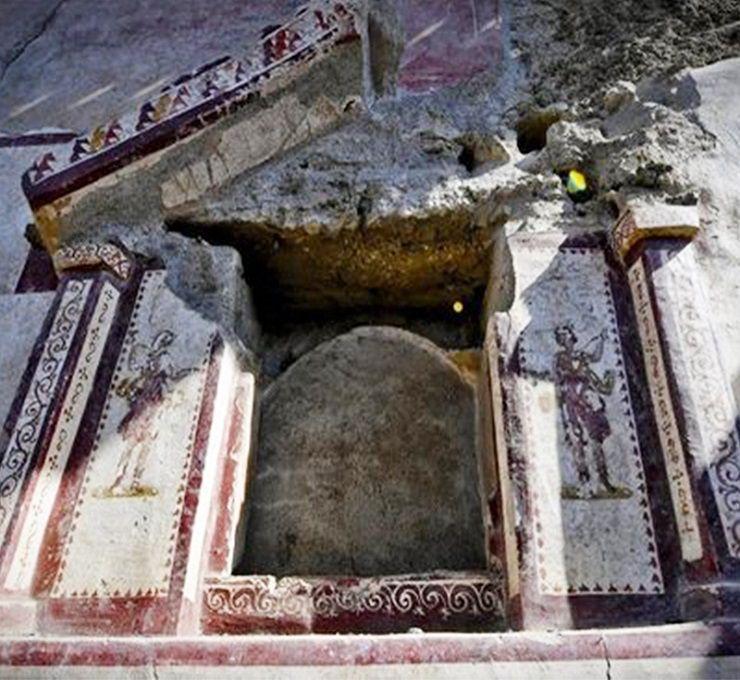 """555820fd90 La casa del """"giardino incantato"""" riemerge dagli scavi di Pompei ..."""