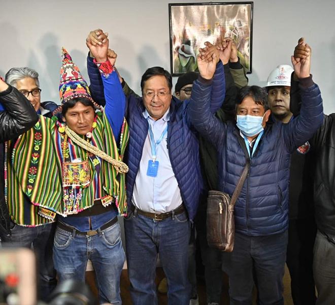 BOLIVIA:GLI_EXIT_POLL_INCORONANO_PRESIDENTE_IL_SOCIALISTA_LUIS_ARCE