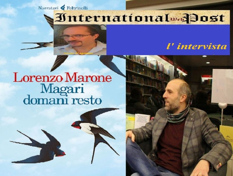 -quot;Magari_domani_resto-quot;_il_romanzo_di_Lorenzo_Marone